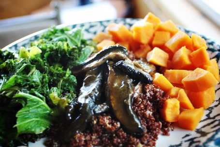 Kale Quinoa Portabella